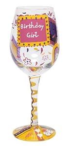 Lolita Love My Wine Glass, Birthday Girl