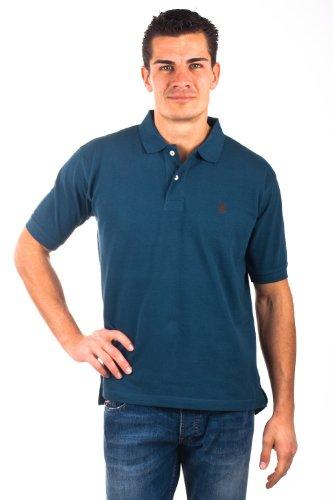 U.S.Polo Assn. men's Poloshirt Pique Petrol USP1001, Größe:L