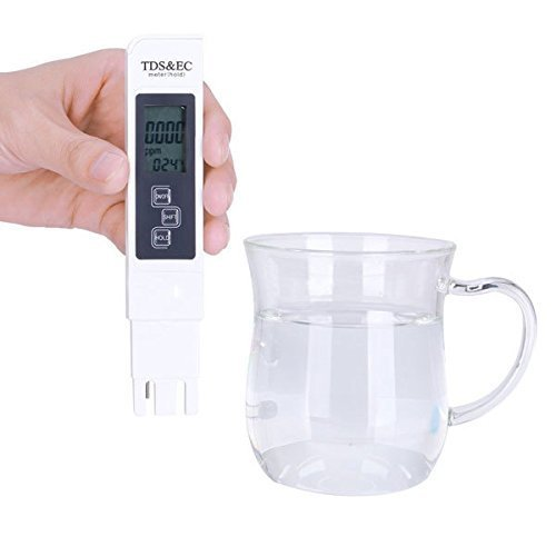 PÃ?RATest TDS and EC Drinking Water Quality Tester Pen / White Temperature Meter