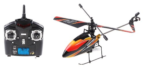 Corter 4CH 2.4GHz Single Propeller GYRO Electric RTF RC Helicopter (BEST MINI RC HELICOPTER ON THE MARKET TODAY)