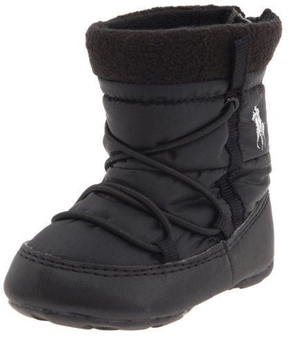 Fairfax Boot (Infant),Black Nylon,2 M US Infant