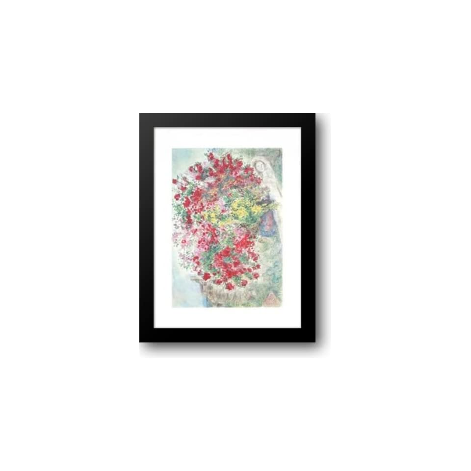 Le Jardin De Saint Paul 26x34 Framed Art Print by Chagall