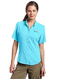 Columbia Sportswear Women's Tamiami II Short Sleeve Shirt, X-Small, Atoll
