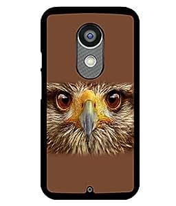 printtech Eagle Look Back Case Cover for Motorola Moto X2 , Motorola Moto X (2nd Gen)