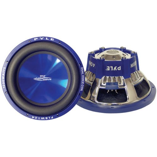 "Brand New Pyle Blue Wave High-Powered Subwoofer - 10"", 1000W Max"