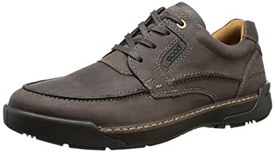 ECCO Men's Dason Toe Tie Oxford,Coffee,45 EU/11-11.5 M US