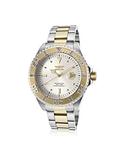 Invicta Men's 15285 Pro Diver Two-Tone Stainless Steel Watch with Diamonds