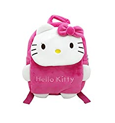 Shopaholic Soft Material Bag With Adorable Cartoon Character - (Small)