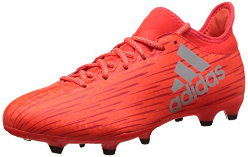 Adidas X 16.3 Fg, Scarpe da Calcio Allenamento Uomo, Multicolore (Solred/Silvmt/Hirere), 43 1/3 EU