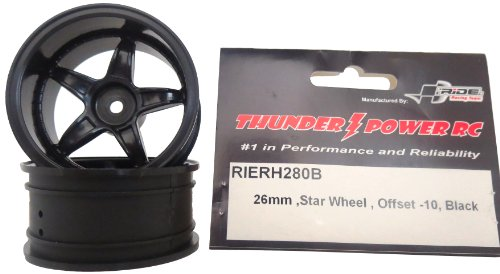 Ride 26mm Star Wheel Offset-10, Black - 1