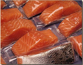 12 X 6oz. Fresh Atlantic Salmon Portions Individually Vacuum Packed, Ready to Cook