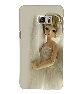 PrintDhaba Cute Doll D-1112 Back Case Cover for SAMSUNG GALAXY NOTE 5 EDGE (Multi-Coloured)