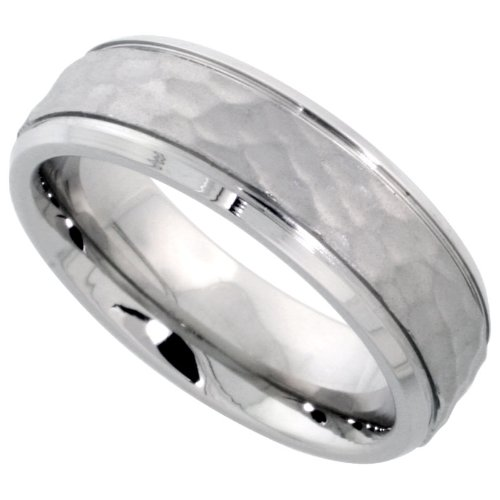 wedding rings for sale surgical steel flat 6mm