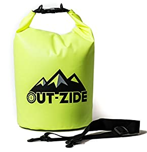Multipurpose Dry Bag that is Lightweight and Very Resistant (Yellow, 20L)