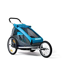Croozer Designs Kid for 1 (Blue Grey Black)