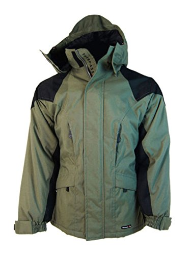 Trespass Elemental Protection Men's Snowboard Ski Jacket Coat - Khaki Green / M