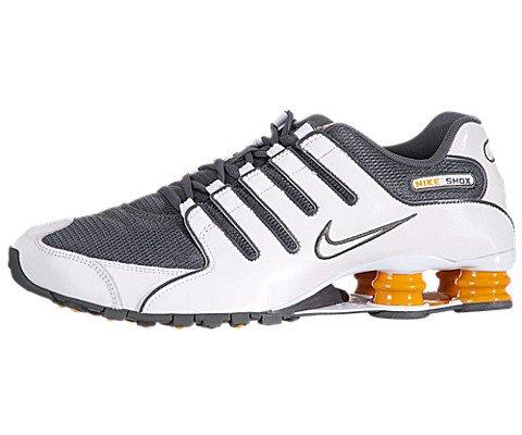 Nike Shox NZ Mens Running Shoes 378341 138 White 11 M US
