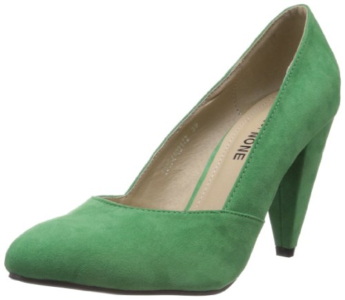 Done by None Women's Green Suede Fashion Sandals