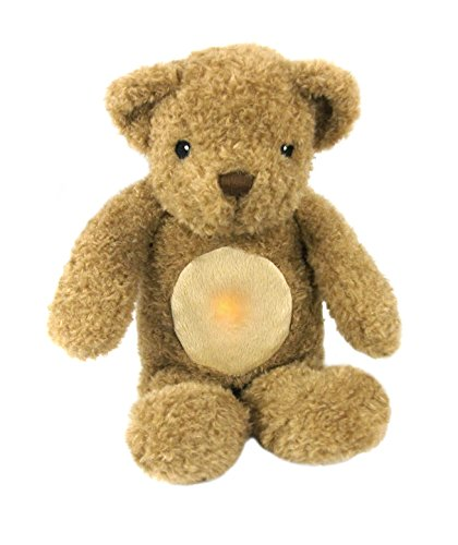 Cloud B 7406-ZZ Glow Cuddles Bear - Toffee, Toffee Bear