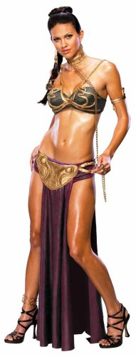 888611 Princess Leia Slave Costume Secret Wishes Adult