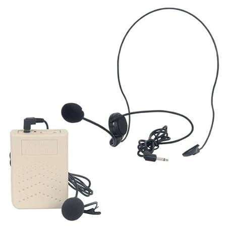 EUROPSONIC BOITIER EMETTEUR VHF + MICRO CASQUE CRAVATE
