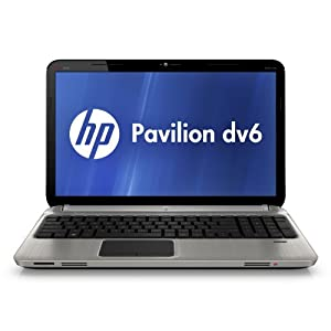 HP Pavilion dv6-6120us 15.6-Inch Entertainment Notebook PC (Silver)