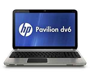 HP Pavilion dv6-6190us Entertainment Notebook PC (Silver)