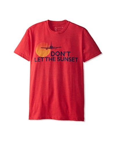 DiLascia Men's Don't Let The Sunset Short Sleeve Crew Neck T-Shirt