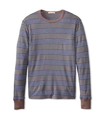 Alternative Men's Long Sleeve Striped Passbook T-Shirt