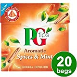 PG tips Spices & Mint 20s Pyramid Teabags 20 per pack