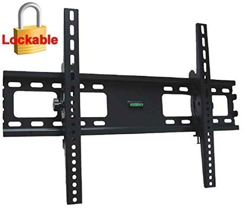 Impact Mounts Lcd Led Plasma Flat Tilt Tv Wall Mount Bracket 30 32 37 42 46 47 50 52 55 60 65 70 80. Solid Piece Wall Plate and Verticals. Lockable With A Padlock For Extra Security (Tv Wall Bracket 80 compare prices)