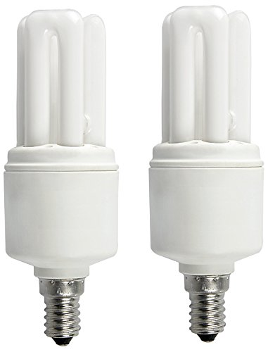 Osram Dulux Star E27 11W Mini Stick CFL Bulb (White, Pack of 2)