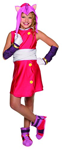 Rubie's Costume Sonic Boom Amy Child Costume, Large by Rubie's Costume Co