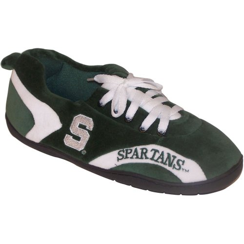 Comfy Feet NCAA All Around Slippers - Michigan State Spartans at Amazon.com