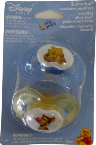 The First Years Disney Winnie the Pooh Ultra Kip Newborn Pacifiers - 1