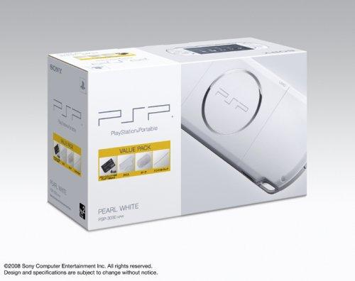 PSP「プレイステーション・ポータブル」 バリュー・パック パール・ホワイト(PSP-3000KPW)