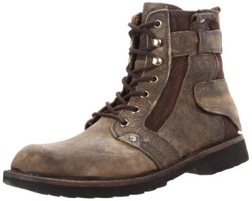 Bed Stu Men's System Boot,Black Greenland ,8 M US