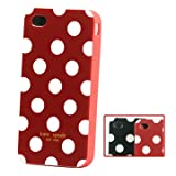 "Iprotect ORIGINAL APPLE IPHONE 4 KATE SPADE CASE P�NKTCHEN CASE ROT WEISS TASCHE H�LLEvon ""iprotect"""
