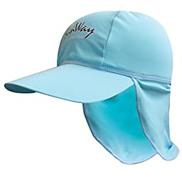 SunWay Light blue Legionnaire Hat for 6-24 months old (UPF 50+)