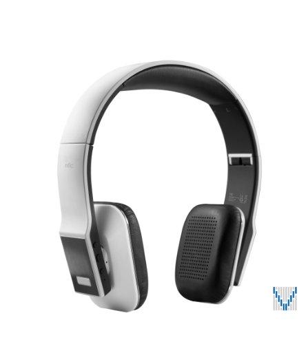 VOXOA® HD Wireless Stereo Headphones (White) Bluetooth 4.0, aptX, AAC, NFC, HD audio VOXOA Bluetooth Headsets autotags B00EAZCMYI