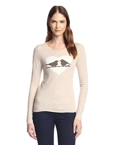 Kier & J Women's Love Birds Sweater