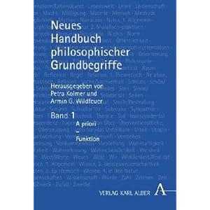 Neues Handbuch philosophischer Grundbegriffe