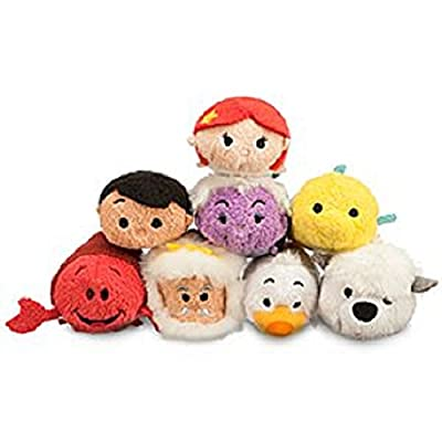 The Little Mermaid Tsum Tsum Mini Plush 8 Set Collection for Sale