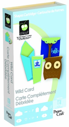 Cricut Cartridge, Wild Card