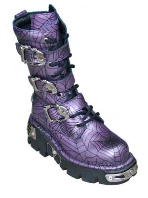 New Rock Boots - 710 - Purple Web 36 eu
