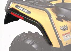 Can-Am 715000296 Black ATV Mud Guard Kit
