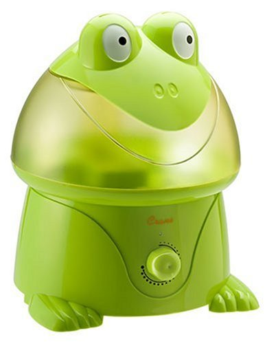 Crane Adorable 1 Gallon Cool Mist Humidifier, Frog Shape
