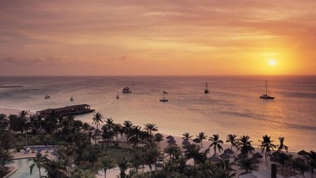 radisson-resort-on-aruba-at-sunset-mouse-pad-mousepad-102-x83-x-012-inches-1327211