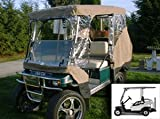 Golf Cart Driving Enclosure for 4 Passengers, fits Club car, EZGo and Yamaha G model - All Weather