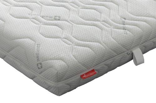 Badenia Bettcomfort 03887820154 Kaltschaummatratze mit Noppenauflage Trendline BT 310 H3  200 x 200 cm weiß